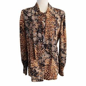 Emanuel Ungaro 1980's Vintage Silk Blouse